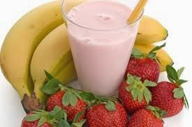 Resep Minuman Segar Smoothies Strawberry Pisang