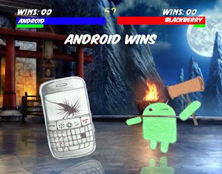 Keunggulan Android Dibandingkan Dengan Blackberry
