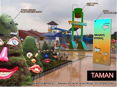 kontraktor waterpark jakarta