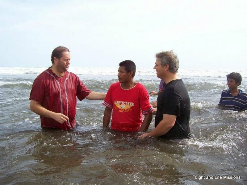 Baptismal Service Pacific Ocean