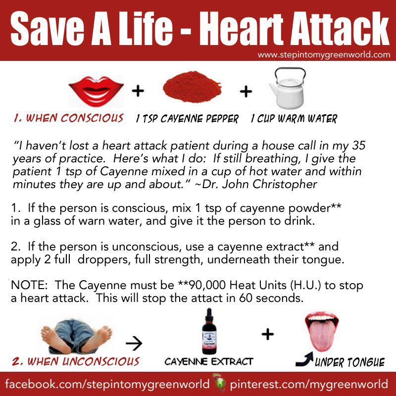 How To Get Heart Attack Naturally