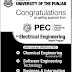 PICS University of The Punjab Admission BS Electrical Engineering  EE Online 2016