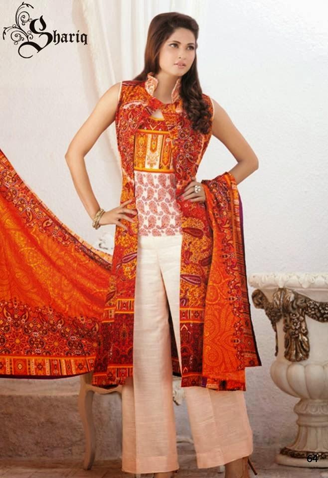 Shariq Textiles+Latest+Female+Khadder+Dress+Collection+In+2013 14005