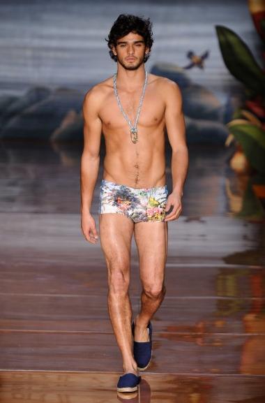 Fashion Rio Verão 2012 - Blue Man