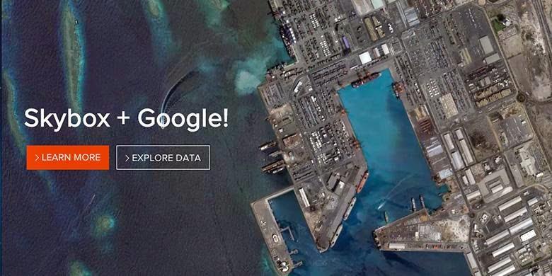 SkyBox dan Google