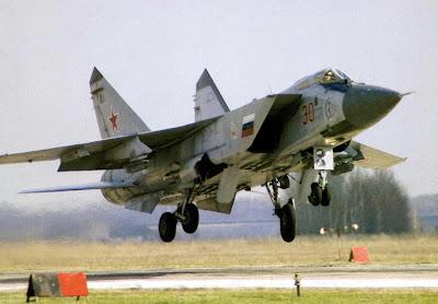 Окраска перехватчика МиГ-31 ДЗ