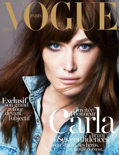 Capa da revista Vogue (Foto: Reprodução/Vogue)