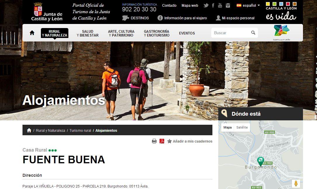 Portal Oficial de Turismo de la Junta de Castilla y León