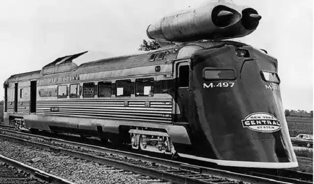 Ατμομηχανή του 1970 ξεπερνούσε την ταχύτητα σύγχρονων τρένων