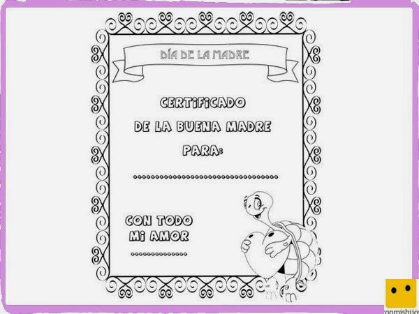 Diploma Para La Mejor Amiga Para Colorear | diploma para ...