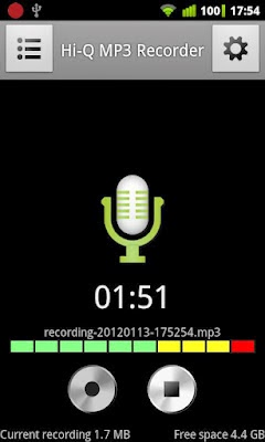 Voice Recorder android app free