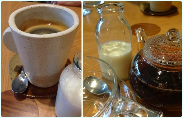 Restaurant Story, London - Tea and Coffee
