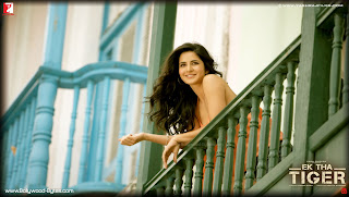 Cute Katrina Kaif's HD Wallpaper from Ek Tha Tiger