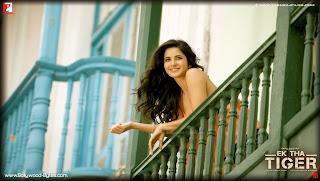 Cute Katrina Kaif's HD Wallpaper from Ek Tha Tiger