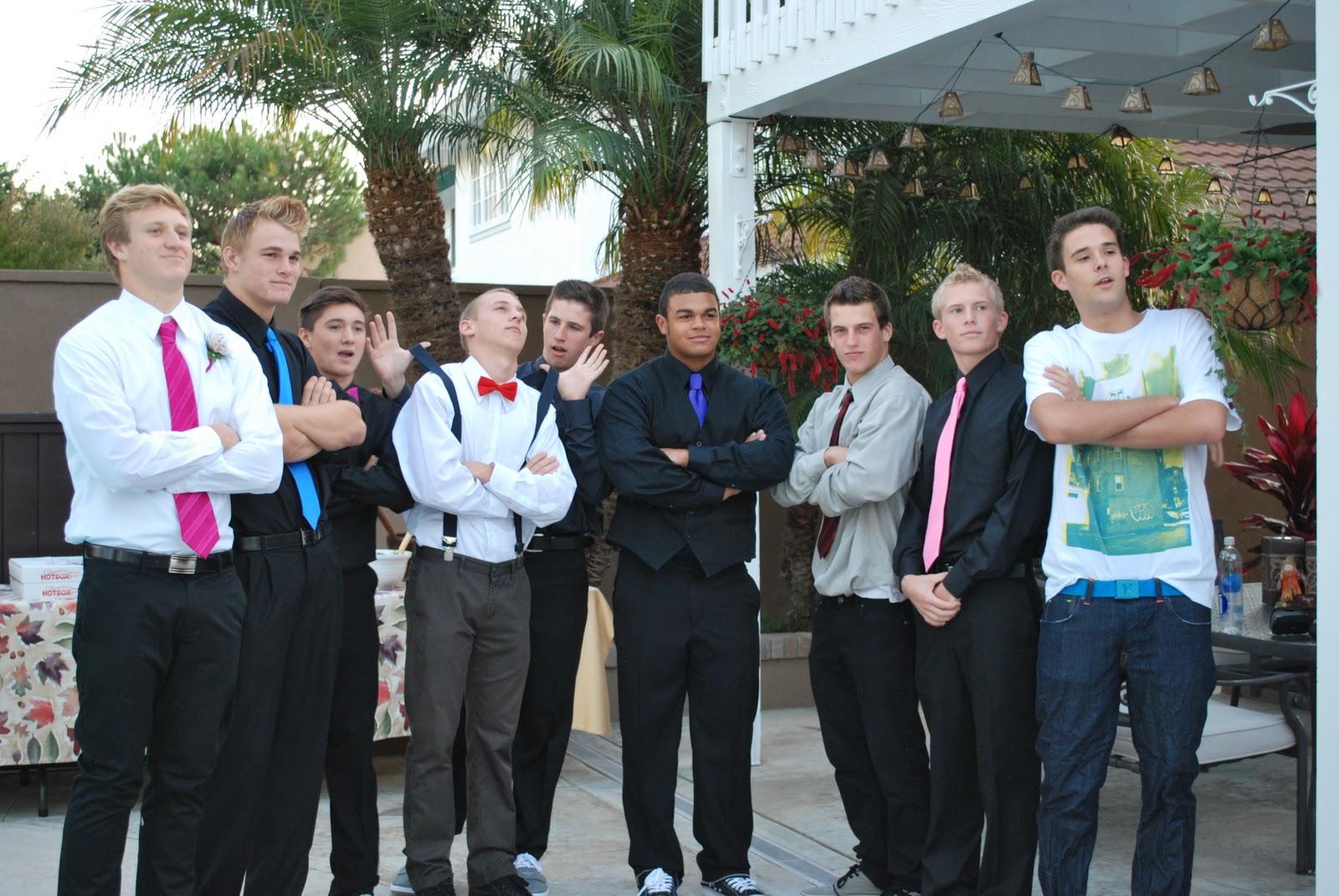 Boys Homecoming Dress