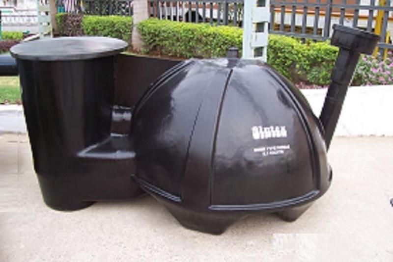 Mini Gas Plant : Biogas plant anaerobic digester biogasplant picture