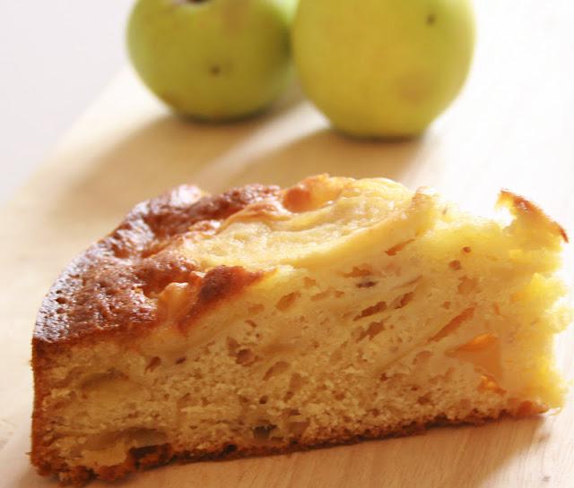 torta di mele dal cuore.