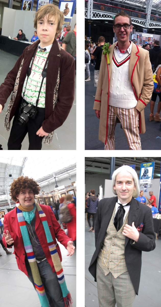 Making My 11th Doctor Costume: LFCC 2012 - cosplay Who?