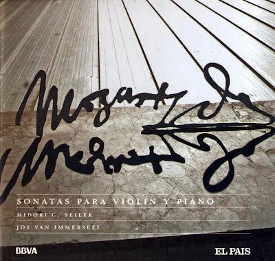 Mozart - Col. El País 250 Aniversario-(2006)-19-Sonatas para violin y piano-carátula frontal