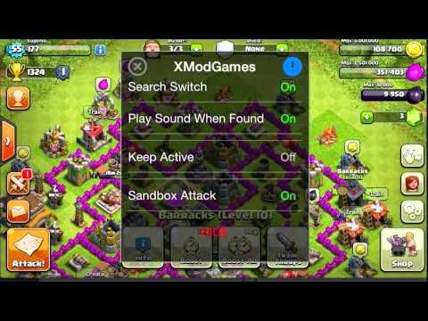 Cheat game Clash of Clan (COC) Android