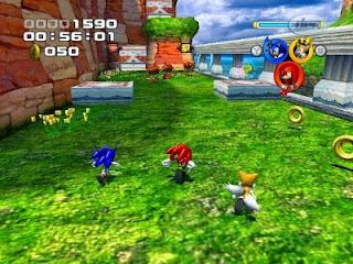 Sonic Heroes Ps2 Ioso Mega Ntsa Juegos Para PlayStation 2