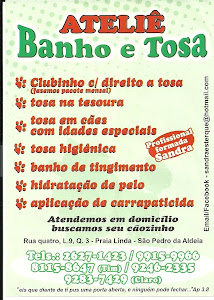 ATELI BANHO E TOSA
