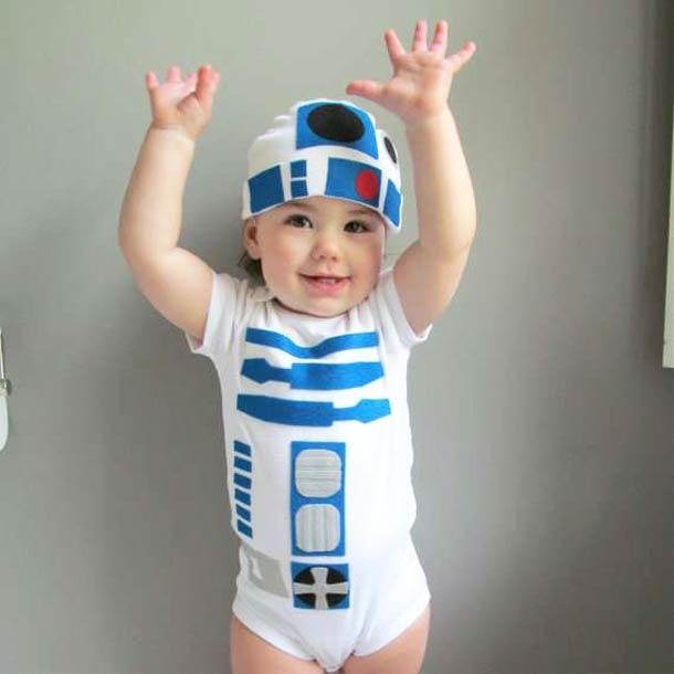 R2d2 Baby Costume Red Baiduri: R2D2 Star...