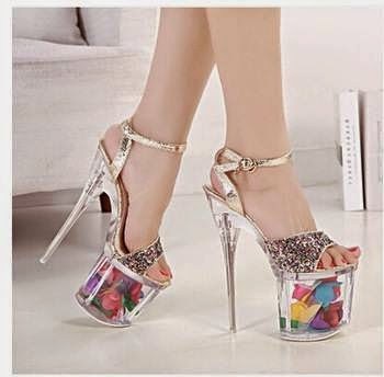 Amazing High Heels Shoes With Fish In Them Fashionate Trends