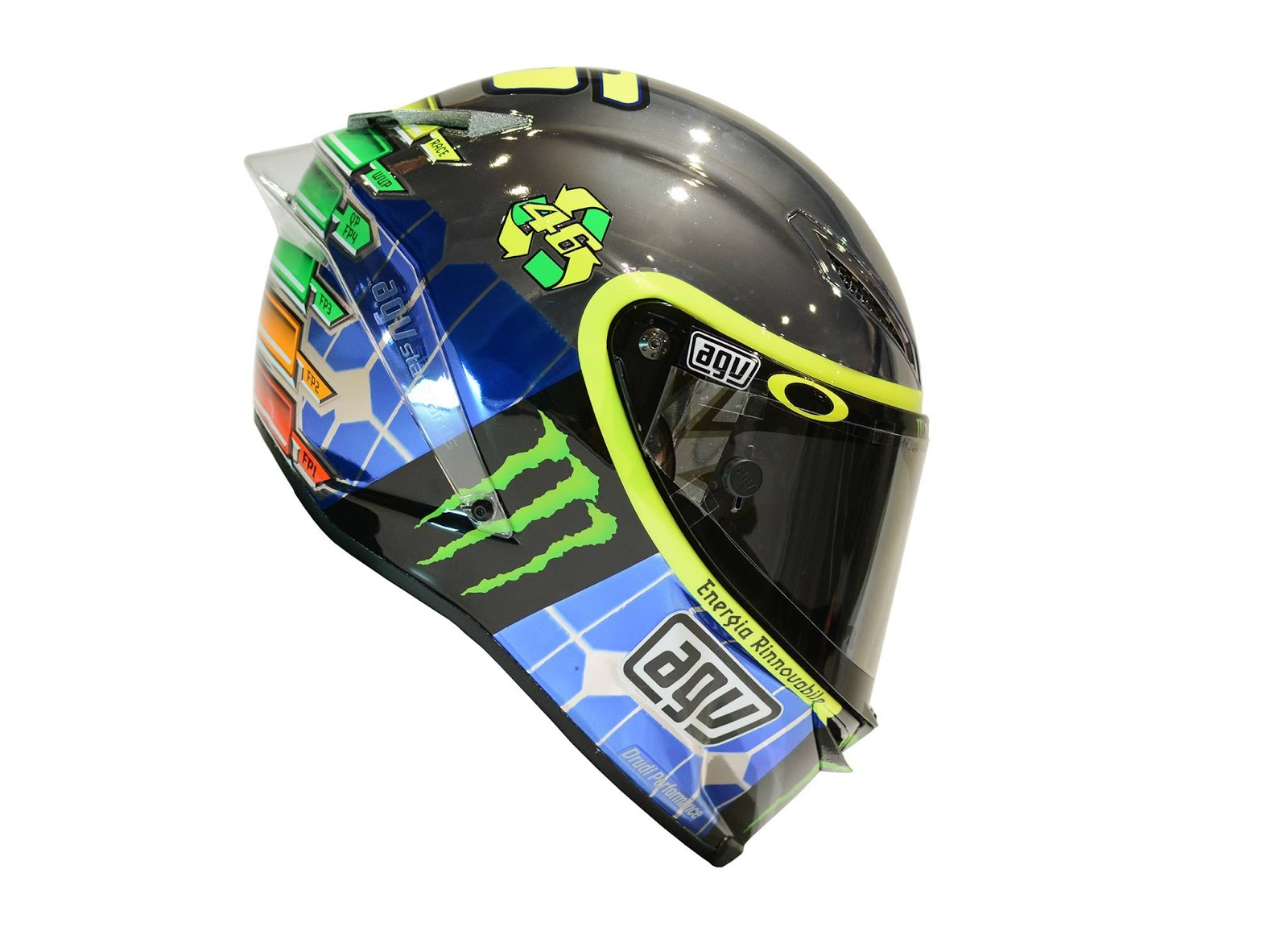 champion helmets agv corsa vr46 mirror valentino rossi. Black Bedroom Furniture Sets. Home Design Ideas