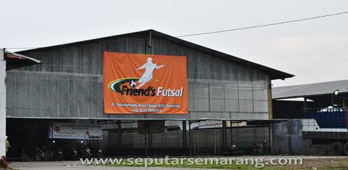 Friend's Futsal, Arena Bermain futsal