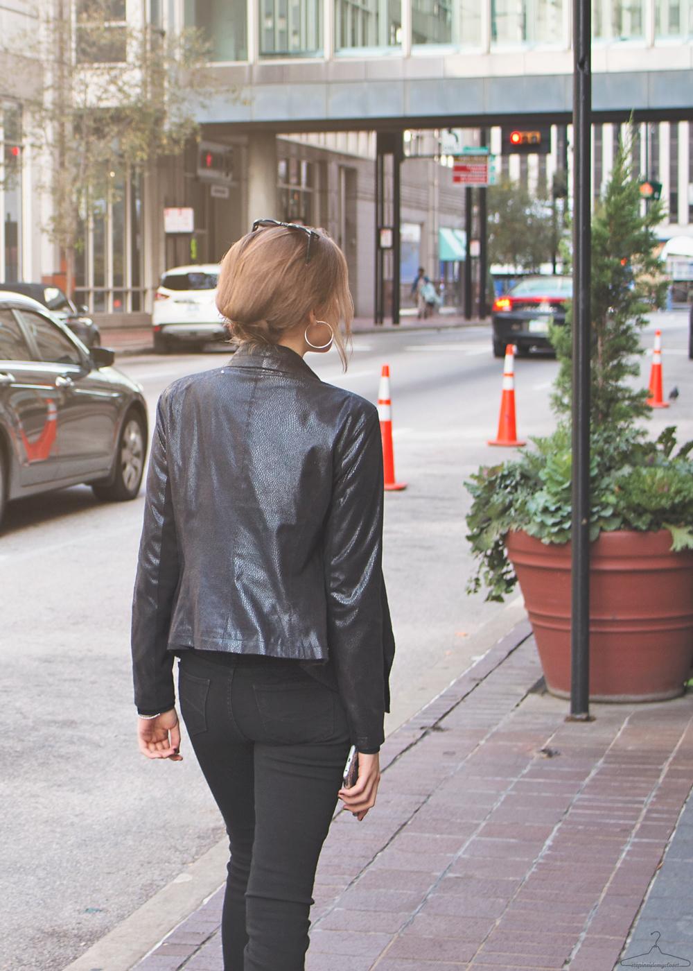 Step Inside My Closet - Noir Monday - Giuliana Rancid, Helmut Lang, Michael Kors, Rag & Bone, Zara,