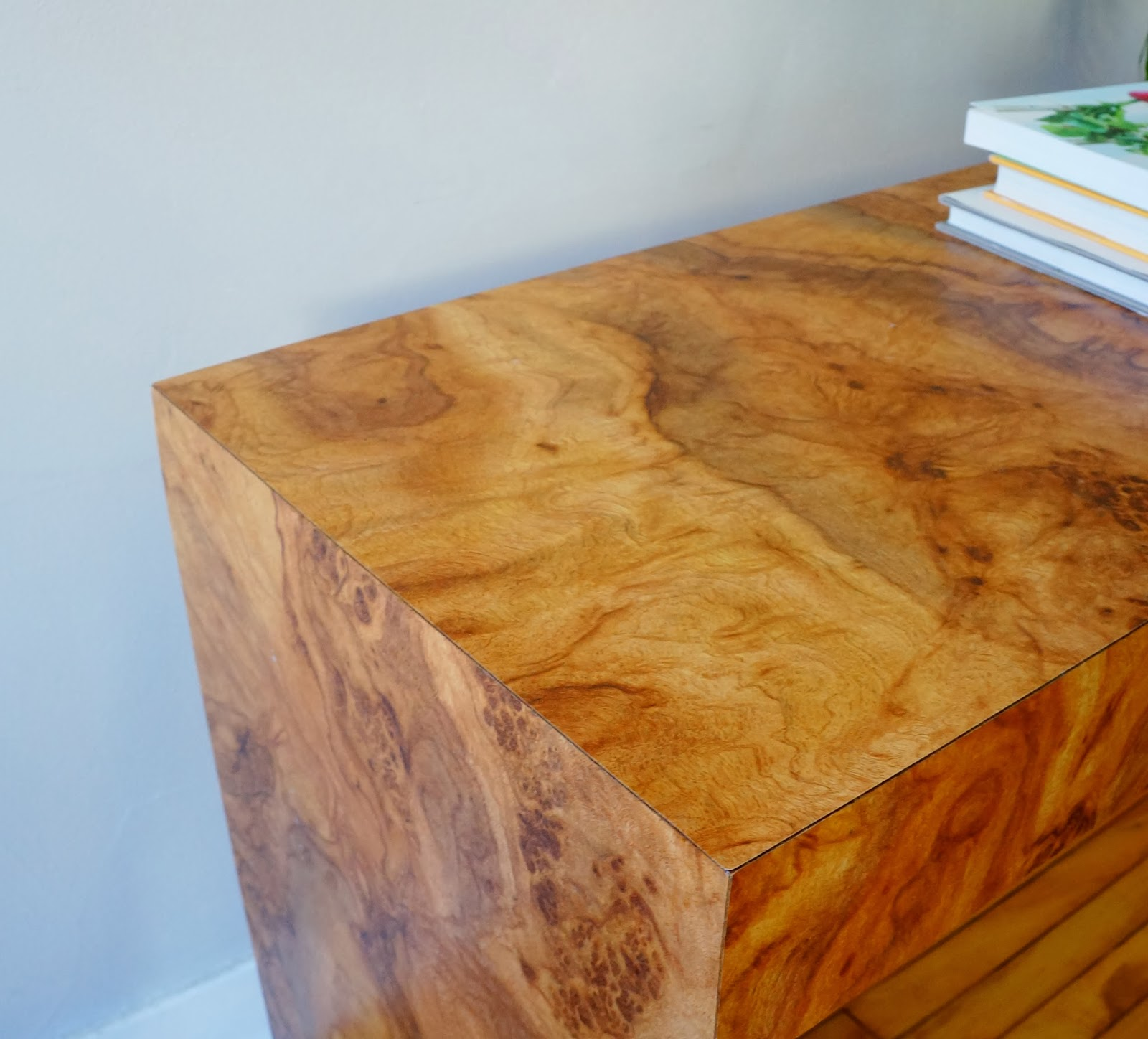 burl wood laminate