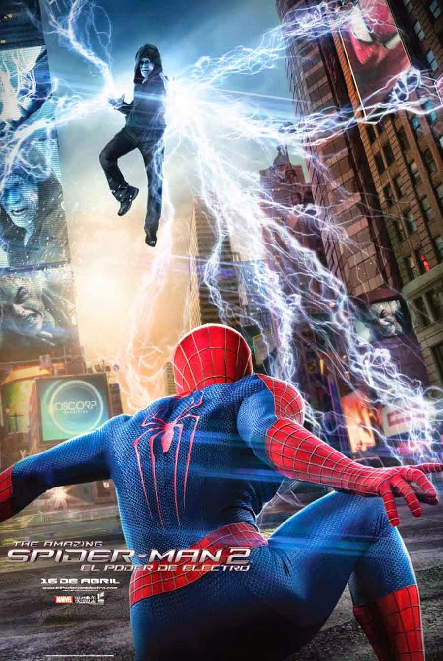 Spider-Man, el zorro con gafas, electro, spiderman 2