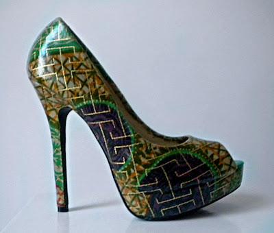 Miry By Carpe Diem ankara wax peep toe - iloveankara.blogspot.com