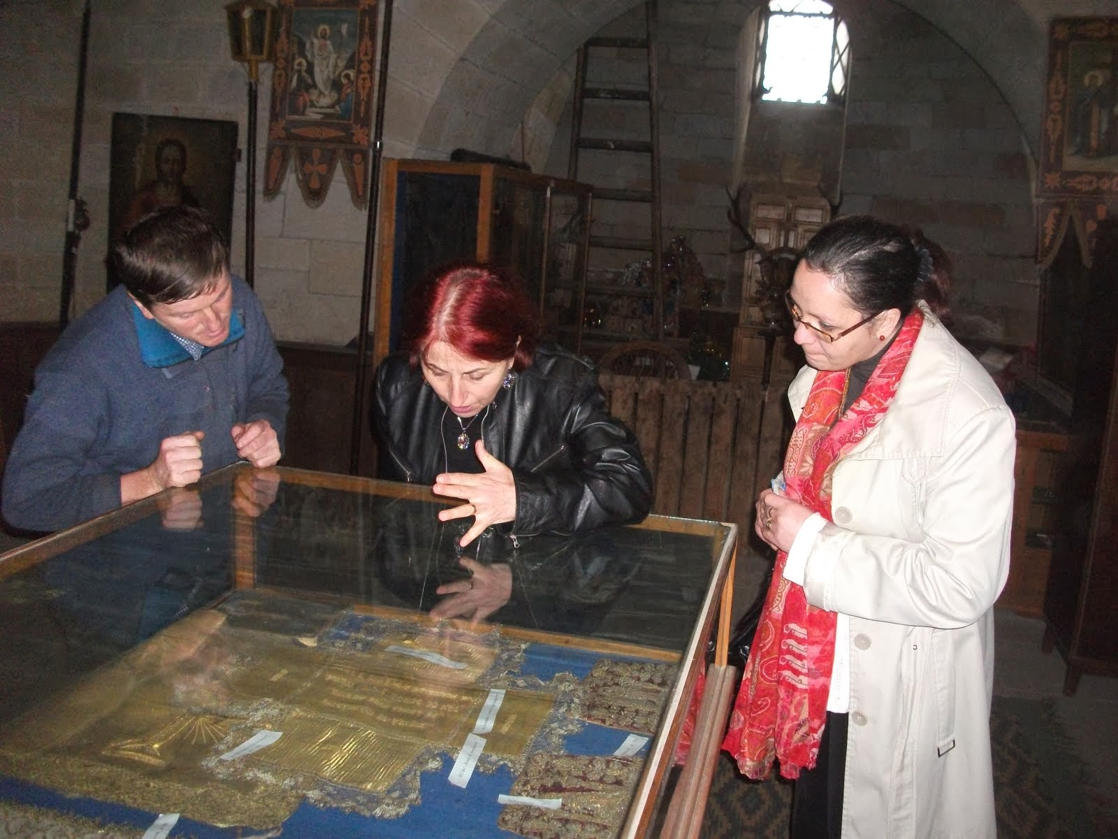 La Muzeul Roznovanu (13.11.2013)...