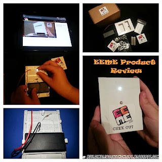 EEME Product Review, Electronic Kits for Kids, 1st Month Free Offer end 9/16