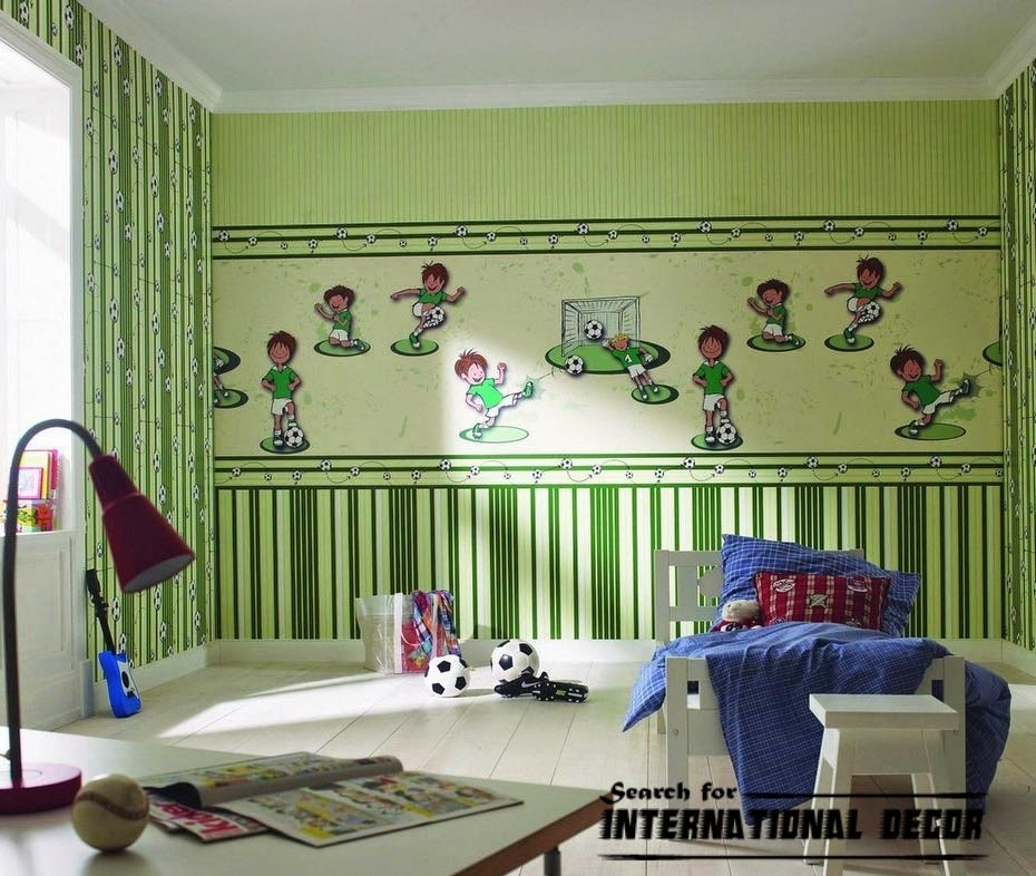 childrens wallpaper,nursery wallpaper, boys wallpaper