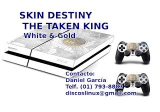 Skin Destiny para PS4 en Lima Peru