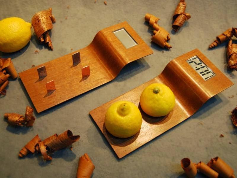 Reloj que Funciona con Limones