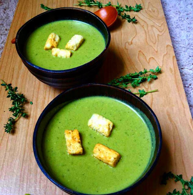 Edamame and Spinach SoupSoups & Lentils