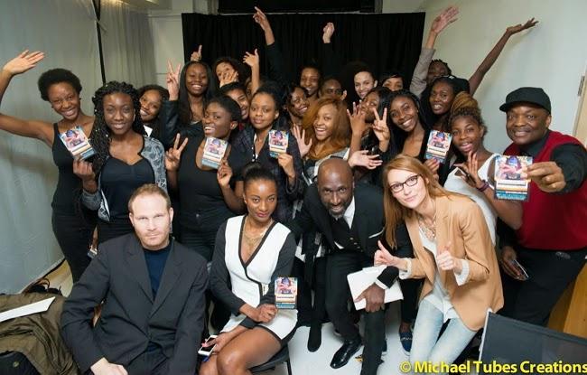 glam africa uk fashion night