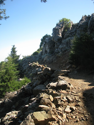 Hiking Dikaios Mountain