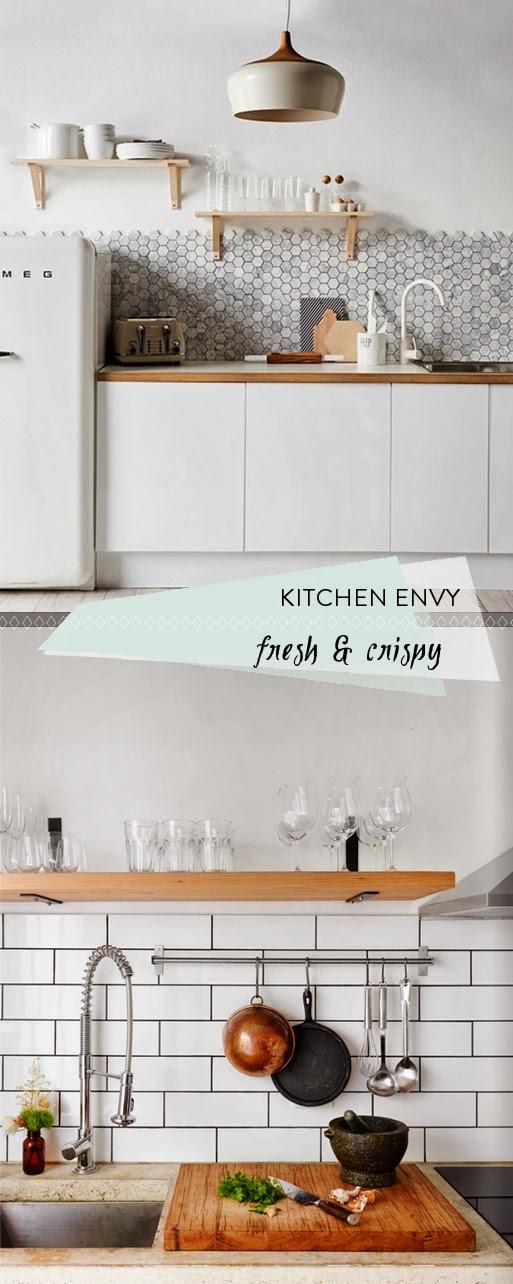 Keuken inspiratie scandinavische stijl villa d 39 esta interieur en wonen - Scandinavische keuken ...