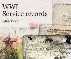 WW1 Service Records
