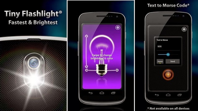 Android FlashLight HD El Feneri Apk resimi 3
