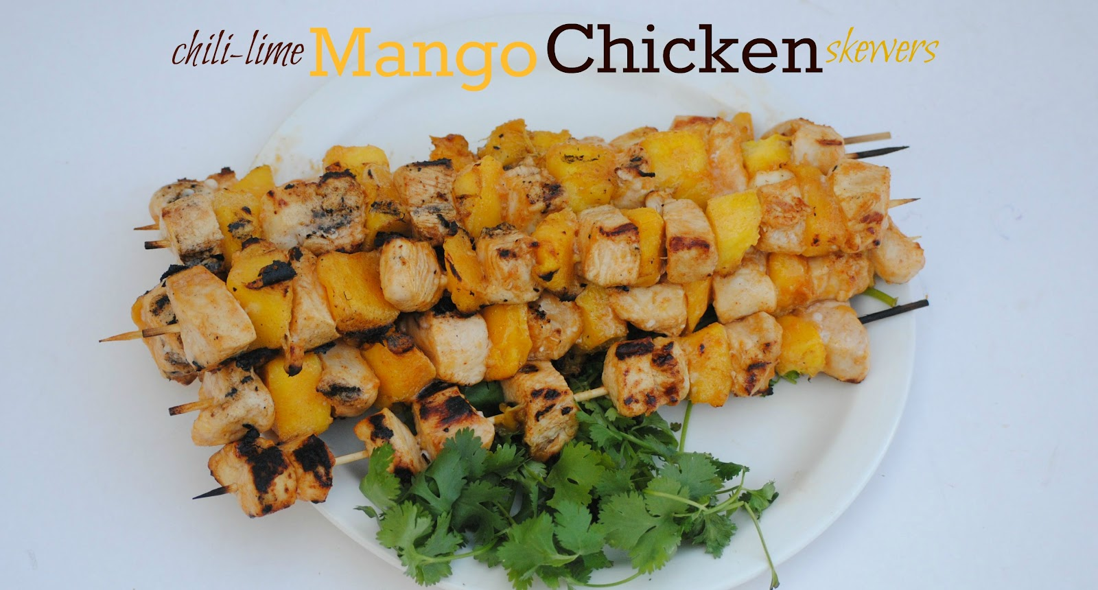 The Farm Girl Recipes: Chili-Lime Mango Chicken Skewers