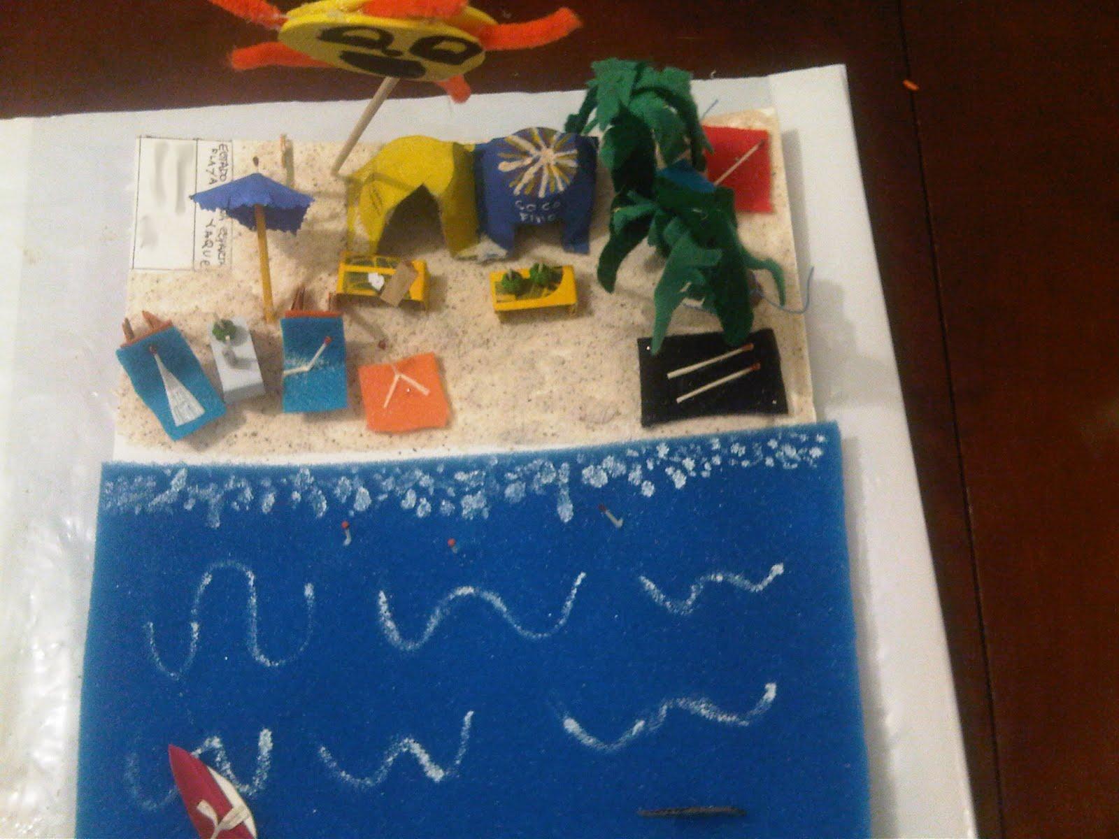 Como Hacer Maquetas De Playa