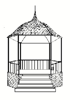 The Gazebo on School House Green in Oceanside, New York