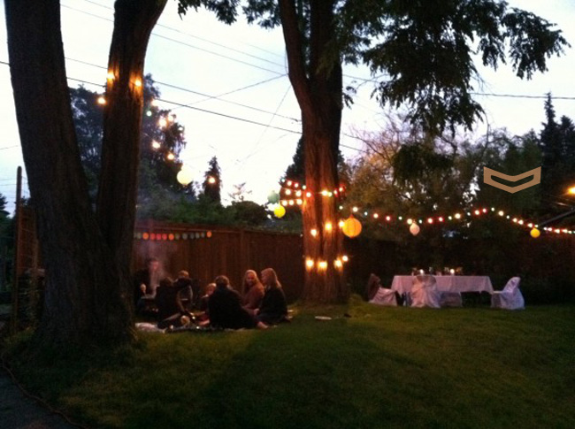 Lighting For Backyard Party : splendid actually backyard party lights