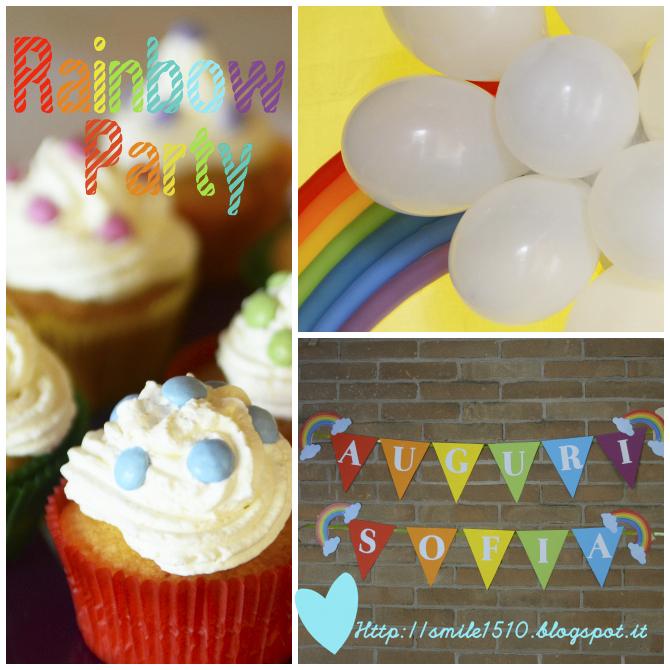 festa a tema arcobaleno, rainbow party